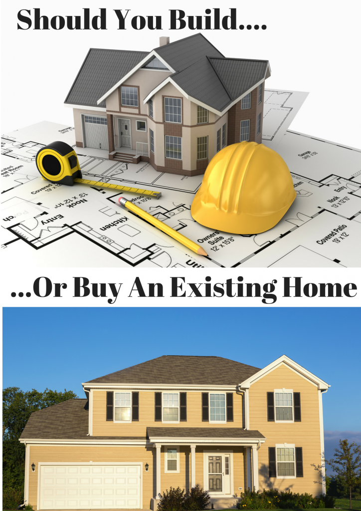 Should You Build Or Buy An Existing Home?
